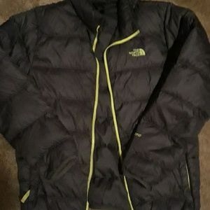 Boys North Face puffer coat